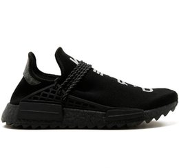 $enCountryForm.capitalKeyWord Australia - NMD Human Race Trail Running Shoes Men Women Pharrell Williams HU Runner Nerd Black White Cream Yellow Trainer Sport Sneaker Size 36-47