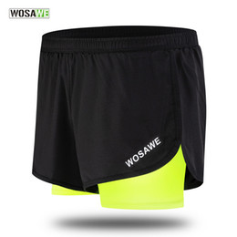 $enCountryForm.capitalKeyWord Australia - Quick Dry Summer Cycling Shorts Mens 2 in 1 Sports Short Fitness Training Exercise GYM Clothes Cycling Jogging Running Shorts