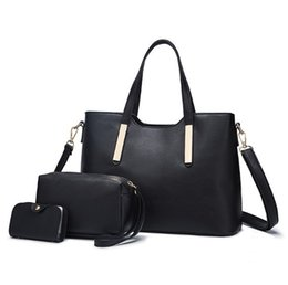 $enCountryForm.capitalKeyWord UK - Lucky2019 Pu Woman Child And Mother Package Three-piece Hand Bill Of Lading Shoulder Satchel