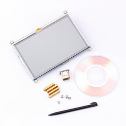 Tft Lcd Touch Screen Module Australia - 5 inch LCD HDMI Touch Screen Display TFT 800*480 Panel Module GPIO Driver For Raspberry Pi 2017 practical good quality