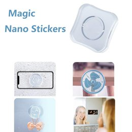 $enCountryForm.capitalKeyWord Australia - Universal magic nano sticker bracket no trace strong wall stickers kitchen desk car sticker pad gel stickers for moblie phone 11 earphone
