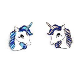 $enCountryForm.capitalKeyWord UK - Fashion Unicorn Button Pin Badge Collar Pin Brooch Women Fashion Bag Jean Hat Accessories Cute Jewelry