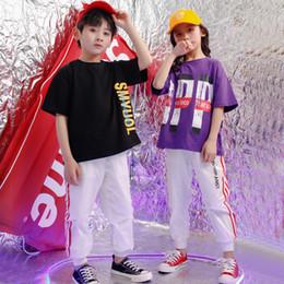 $enCountryForm.capitalKeyWord NZ - Clothing for babies boys girls set 2019 summer hip hop street dance costumes kids jazz children's costume for girls boys