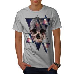 $enCountryForm.capitalKeyWord UK - Wellcoda Abstract Geometric Skull Mens T-shirt, Mad Graphic Design Printed Tee Men Women Unisex Fashion tshirt Free Shipping