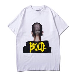 71e4b3c7a Bold Queen Printed Hip Hop Tshirt Men Women Round Neck Cotton T-shirt Short  Sleeved Men Couple Tee Shirts