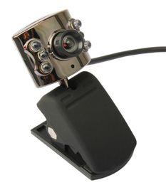 web desktop 2019 - USB 30.0M 6 LED Webcam Camera With Mic Web Cam for Desktop PC Laptop Notebook cheap web desktop