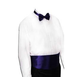 $enCountryForm.capitalKeyWord UK - Gentleman Solid Wide Silk Satin Elastic Belly band Tuxedo Cummerbund Commercial Banquet Model Business Elite Black