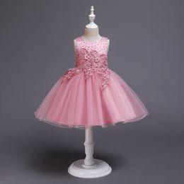 $enCountryForm.capitalKeyWord Australia - For sale Girls Dress For girls Wedding and Party Infanty Summer Dress 4-9 years Baby Dresses cute TUTU Girls formal Baby Dresses