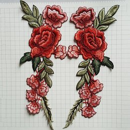 tools sew patch 2019 - fashion Fashion Flower for Clothing Applique Embroidery Flower Patches for Clothing Parches Bordados Flores Patch Cloth