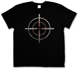 $enCountryForm.capitalKeyWord Australia - BLOODY CROSSHAIRS SNIPER T-SHIRT - Call of Crosshair Duty Gun Ego-Shooter Custom