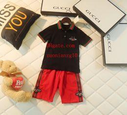 Marca de ropa para niños niños bebé niño ropa niño niño niño vetement bebe niños chándal Camisetas enfants cortos traje casual bebé YZ-1 en venta