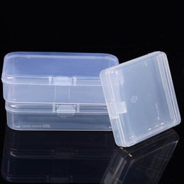 Clear Jewelry Storage Boxes Australia - 1Pcs Multipurpose Clear Transparent Portable Jewelry Storage Boxes Plastic Display Case Storage Box