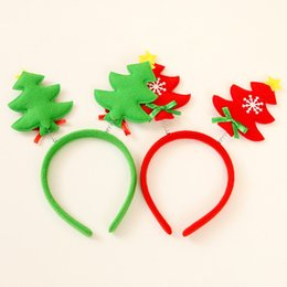 synthetic hair wholesalers NZ - Cartoon Santa Snowman Moose Reindeer Christmas Feathers Headband Party Decor Adlut Hair Band Clasp Children Kids Head Hoop For Kids Women