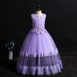 $enCountryForm.capitalKeyWord Canada - Baby Pink Purple Green Champagne Red Girl's Pageant Dresses Flower Girl Dresses Princess Party Dresses Child Skirt Custom Made 2-14 H312187