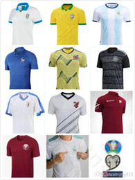 colombia jerseys Australia - 2019 Copa America Soccer Jerseys Argentina Messi Brasil Colombia James Mexico CHICHARITO Uruguay L.Suarez Custom Home Away Football Shirt