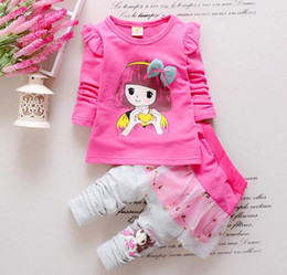 18 Month Old Clothes Australia - Wholesale Newborn 3months to 3 years old Baby Girl Dress Baby Girl Dress Baby Girl Vestido Birthday Party Princess Dress Boys Clothing Suit