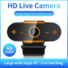 china camera mega Canada - C13 Full HD Camera Plug-and-Play Video Call Universal Multiple Live broadcast platforms HD Webcams Sensitive Microphone Online Teaching