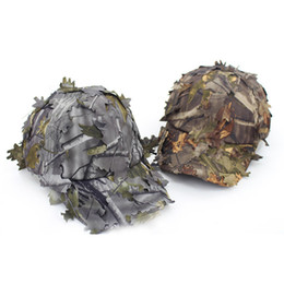 Wholesale 2 Colors Sniper Camouflage Baseball Hat Outdoor Military Training Jungle Tactical Cap Adjustable Camping Live CS #4D24