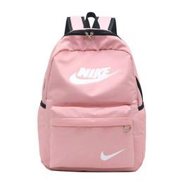 Pocket charms online shopping - 2019 summer backpacks designer fashion women lady black red rucksack bag charms designer backpacks1
