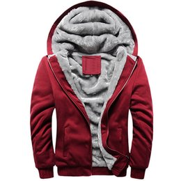 $enCountryForm.capitalKeyWord UK - New Fashion Winter Hoodies Men Sweatshirt Wadded Jacket Fleece Coat Male Thickening Sportswear Slim Uniform Brand Tracksuit 5xl