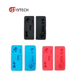 Game Switch Australia - SYYTECH Soft Protective Silicone Skin Case Cover Game pad Joystick JoyPad Holder Silicone Skin Case for Nintendo Switch Controller Online
