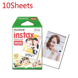 $enCountryForm.capitalKeyWord Australia - 10pcs box for Instax Mini Camera Film 10 Sheets Photography Supplies Instant Mini Photo Paper White Edge Film
