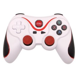 red wireless tablet Australia - Wireless Bluetooth 3.0 Game Controller For PS3 Android Smartphone Tablet PC Remote Gamepad