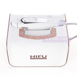 Discount hifu portable home machine - Portable Hifu Machine 2 In 1 High Intensity Focused Ultrasound RF Skin Tightening Machine For Face Lifting Wrinkle Remov