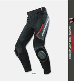 $enCountryForm.capitalKeyWord NZ - Hot sale! KOMINE PK717 motorcycle motorcycle racing men's and women's anti - fall pants waterproof summer No grinding block.