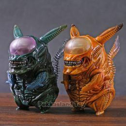 $enCountryForm.capitalKeyWord Australia - Alien PVC Figure Funny Xenomorph Warrior Aliens VS Predator AVP Cute Q GAME FREAK Doll Toy Action Figure