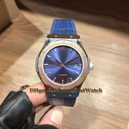 Life Cases Blue Brown Australia - Blue Dial 565.NX.1170.LR (SW300 Switzerland 2892) Automatic Mens Watch Power Life 41 Hours Rose Gold Titanium Case Sapphire Leather Rubber