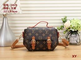 Bulk Plain Bags Canada - Women's handbag classic small series of fashion hot mom Lady chain bag elegant bulk corrugated woman Leather Shoulder purse handbags bag C68