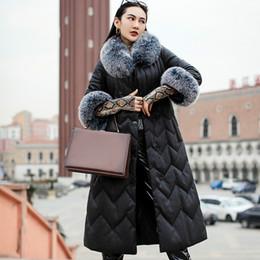 $enCountryForm.capitalKeyWord Australia - Real Genuine Leather Jacket Autumn Winter Coat Women Clothes 2019 Fur Collar Sheepskin Dwon Coat Korean Vintage Women Tops