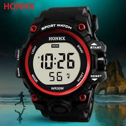 $enCountryForm.capitalKeyWord NZ - Montre Femme Luxury Men Analog Digital Sport LED Waterproof Wrist Watch Relogio Masculino Digital