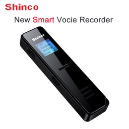 Mini Digital Audio Australia - Shinco RV13 8GB Voice Recorder New Smart Digital Audio Recorder Voices Transfer to Words Mini Dictaphone for Meeting MP3 Player