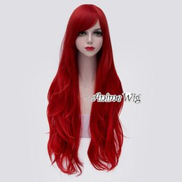 $enCountryForm.capitalKeyWord Australia - Jessica Rabbit 80CM Long Popular Wavy Red Women Cosplay Hair Wig Halloween Party>>>>>Free shipping New High Quality Fashion Picture wig