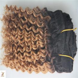 $enCountryForm.capitalKeyWord Australia - Two Types Color Peruvian Virgin Double Weft Hair Bundles 100% Deep Wave Human Hair Extensions 1 Piece Hair Weave