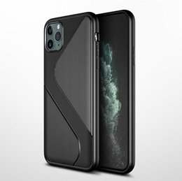 water shock proof phones UK - Newest Carbon Fiber Phone Case For iPhone 11 Pro max X XR 7 8 plus Soft TPU Rubber Shock-Proof Full Protect Back Cover