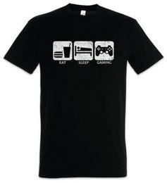 $enCountryForm.capitalKeyWord Australia - Eat SCustomp Gaming T Shirt Gamer Games Fun Geek Nerd Ego Computer Science Shooter
