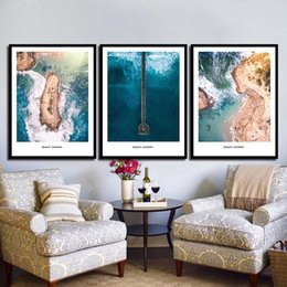 $enCountryForm.capitalKeyWord NZ - Nordic Posters Nursery HD Prints For Baby Room Blue Ocean Beauty Scenery Wall Art Canvas Painting Picture Kids Bedroom Decor