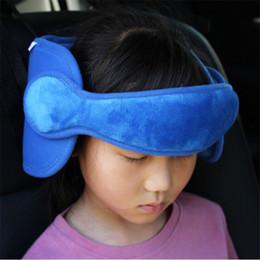 Kids Car Seat Belt Australia - Unisex Car Seat Pillow Kids Baby Boy Girl Head Neck Support Car Seat Belt Safety Headrest Pillow Pad Protector Over 3Years