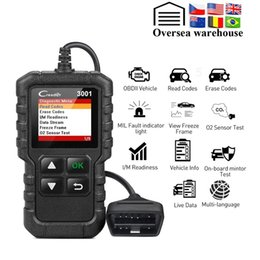 automotive scanner portuguese Australia - Full OBD2 Scanner OBD 2 Engine Code Reader Car Diagnostic tool PK CR319 AD310 ELM327 Scan tool