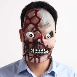 $enCountryForm.capitalKeyWord Australia - Halloween Adult Mask Zombie Mask Latex Bloody Scary Extremely Disgusting Full Face Mask Costume Party Cosplay Props