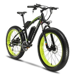 26 mountain bike online shopping - Cyrusher XF660 V W Electric Snow Bike Mountain Electric Bicycle S Fat Tire ebike with Adjustable Handlebar Disc Brakes