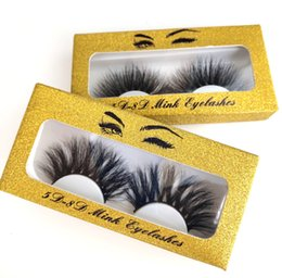 $enCountryForm.capitalKeyWord Australia - Top Quality False Eyelashes Handmade Natural Long Thick Mink Fur Eyelashes Soft Fake Eye Lash extensions Black Terrier Full Strip Lashes