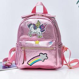 $enCountryForm.capitalKeyWord NZ - 2019 New Women Backpack Teenager Girl Fashion School Bags Children Small Cartoon Rainbow Embroidery Anime Softback Bag Y19061004