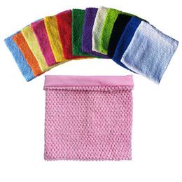 Purple Tutu For Little Girl Australia - 8x8inches Lined Crochet Tutu Tube Tops For Baby Little Girls Tutu Dresses Tube Top DIY Craft Tutus Supplies