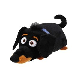 de7cfaaebd5 Ty Beanie Boos plush toy the Secret Life of Pets Kid s Party Doll Stuffed  rabbit dog toys Animals Girl boy child Birthday Gifts