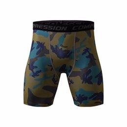 $enCountryForm.capitalKeyWord NZ - Mens Compression Shorts 2016 Summer Camouflage Bermuda Shorts Fitness Men Crossfit Bodybuilding Tights Camo