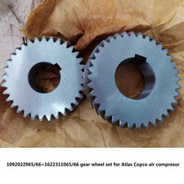 $enCountryForm.capitalKeyWord NZ - Free shipping Genuine gear wheel set driven gear shaft 1092022965 66=1622311065 66 for Atlas Copco screw air compressor parts